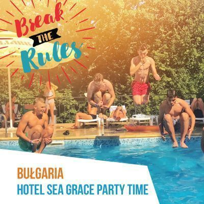#7 Bułgaria Hotel Sea Grace Party Time