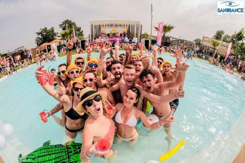 SANDDANCE - Piana&Pool Party !