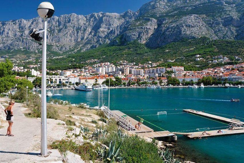 Makarska - powrót z półwyspu