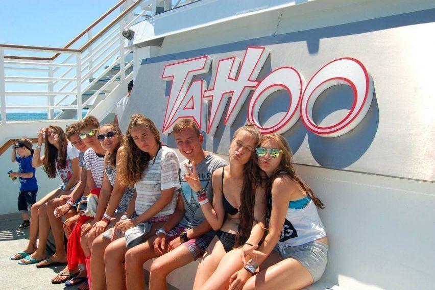 Rejs statkiem Tattoo