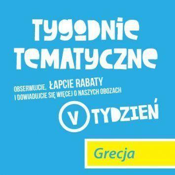 #6 Tygodnie tematyczne z Obozami Młodzieżowymi Funclub. Tydzień grecki