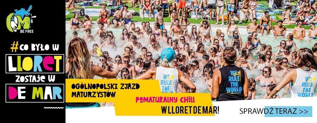 Ogólnopolski zjazd maturzystów w Lloret de Mar