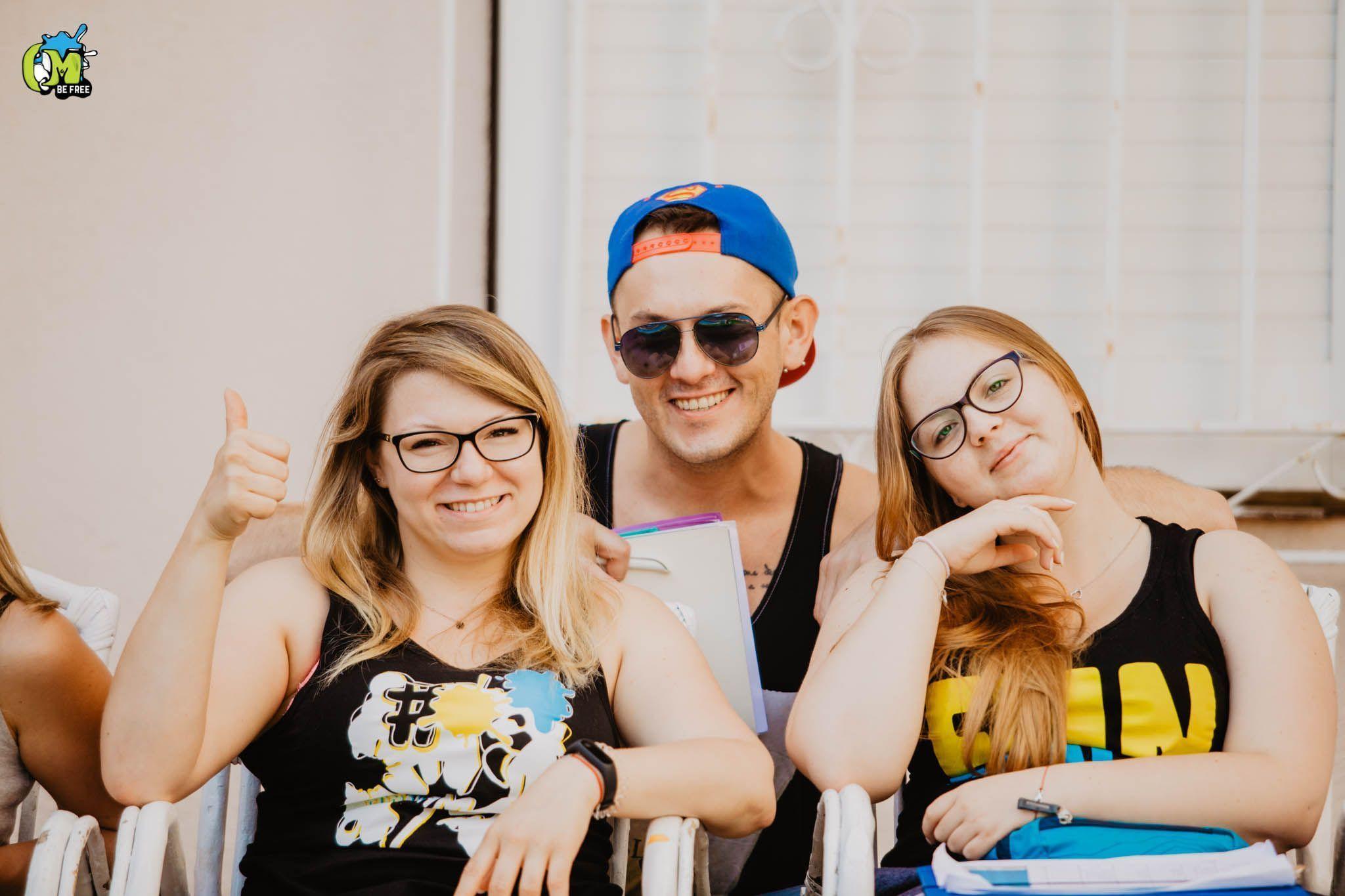 Obóz młodzieżowy w Hiszpanii - Lloret de Mar 2019 - Kadra