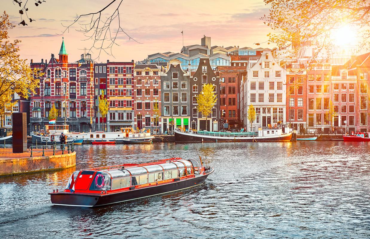 Amsterdam młodzieżowy CITY BREAK