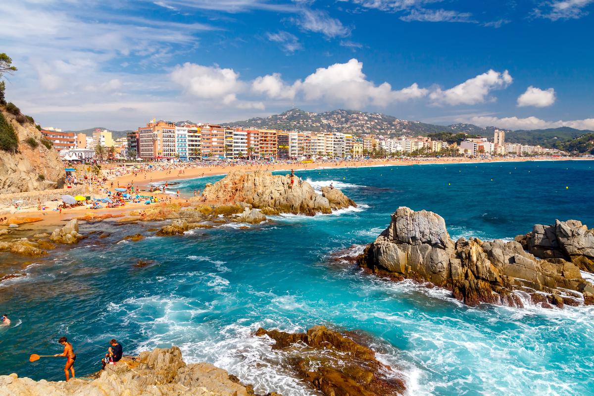 lloretdemar hiszpania