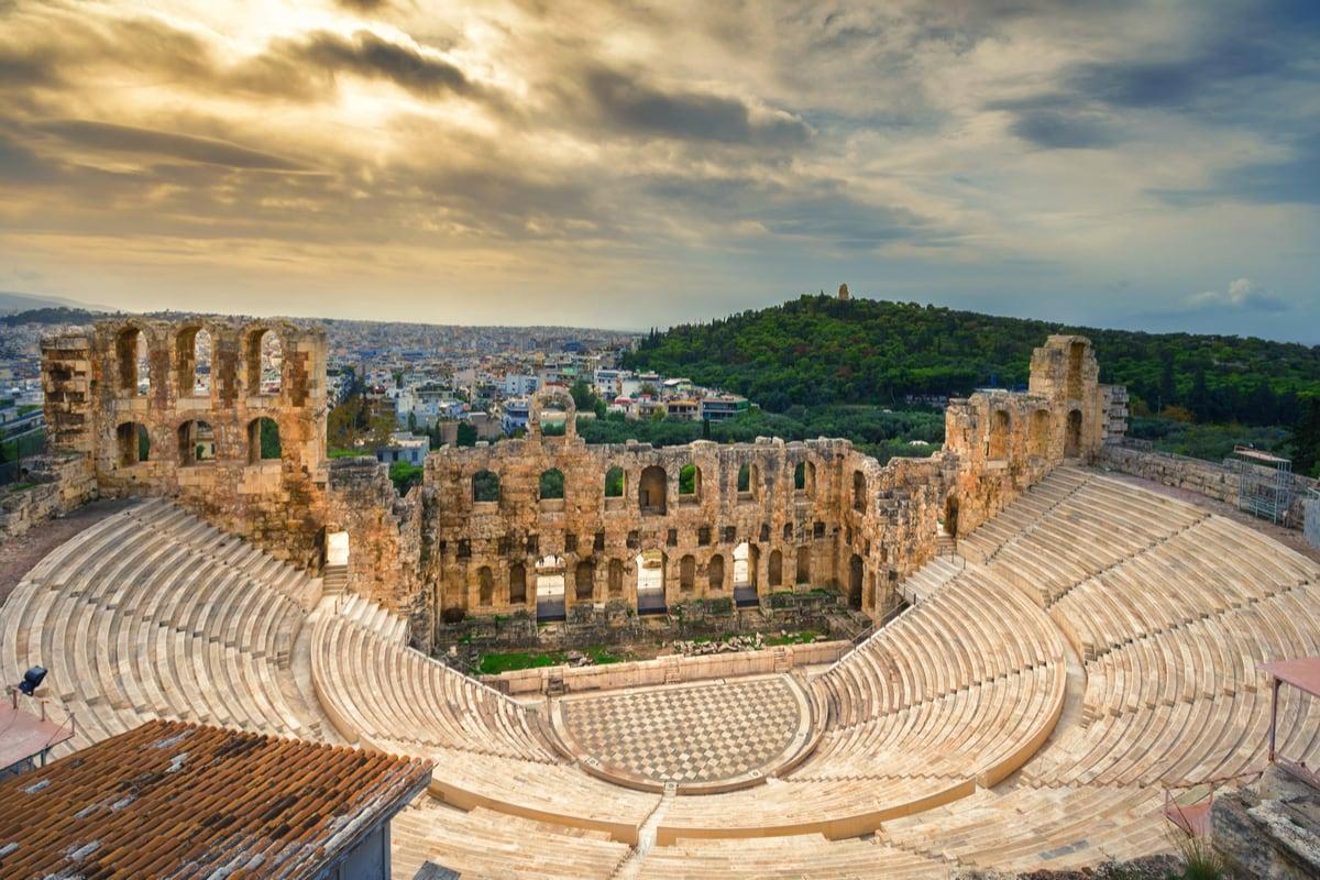 ateny grecja funclub amfiteatr akropol