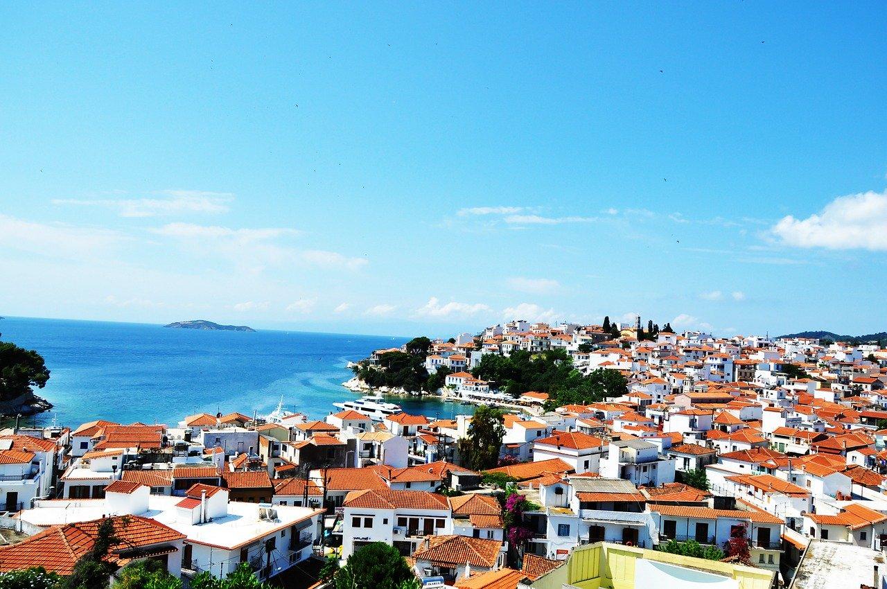 grecja skiathos obozymlodziezowe 2020