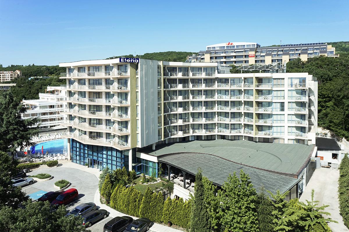 Hotel Elena 24h Park All Inclusive samolotem